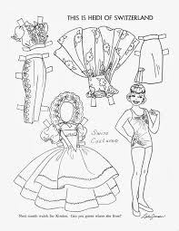 1423 Best Paper Dolls Black And White Images On Pinterest