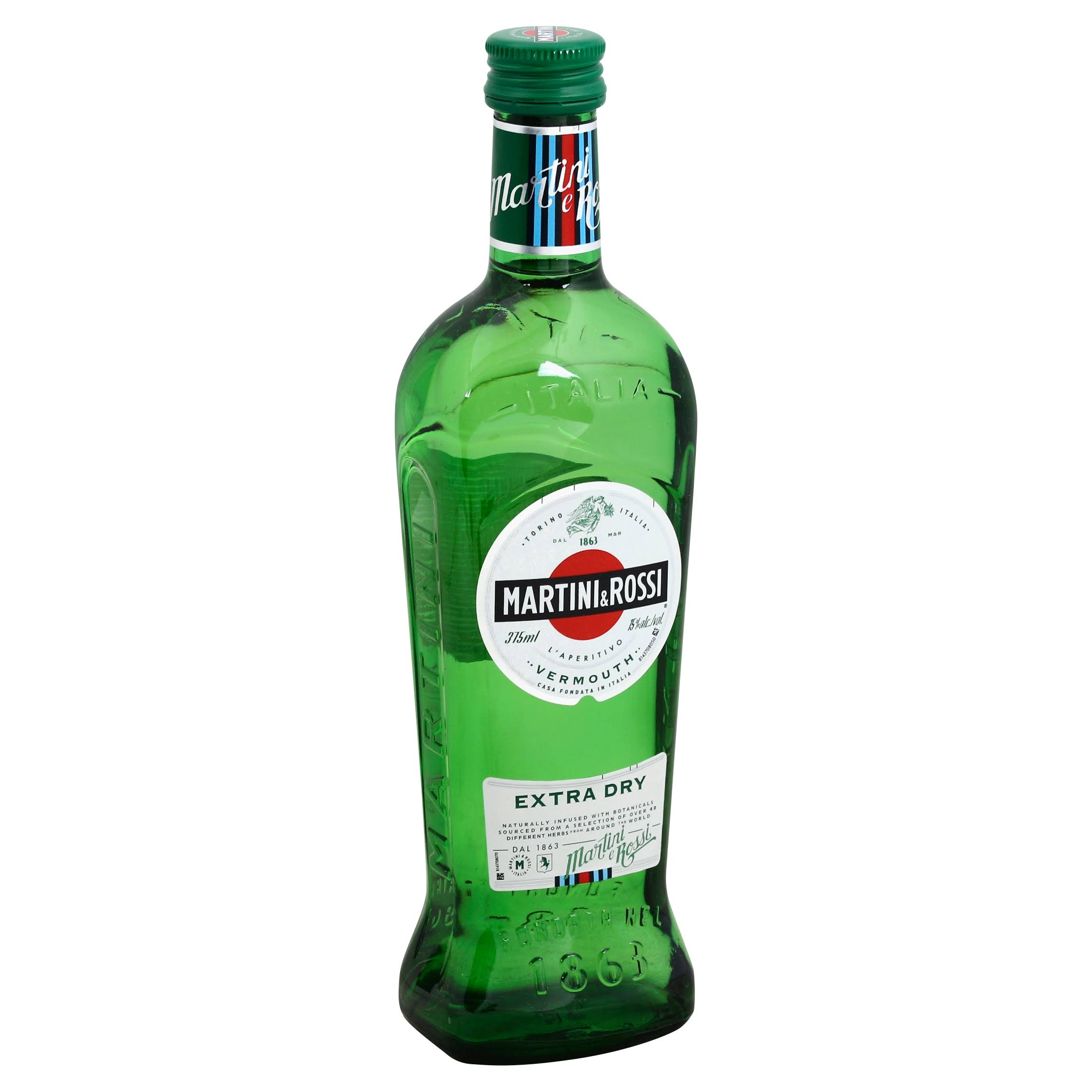 Martini & Rossi Vermouth, Extra Dry - 375 ml