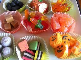 Halloween Candy Dish by Red Couch Recipes Halloween Candy Skewers