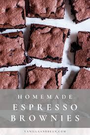 espresso brownies espresso brownies dessert