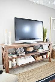 Diy Rustic Living Room Creative Tv Stand Ideas For Your Interior On Bm Hc