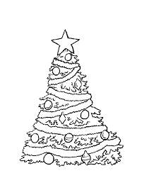 Christmas Tree Coloring Pages Book 15