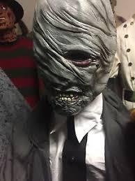 Spirit Halloween Animatronic Mask by 2016 Boogie Man Animatronic Life Size Spirit Halloween Sold Out