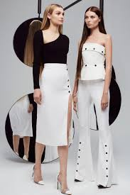 cushnie et ochs resort 2018 fashion show resorts fashion and