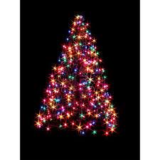 8ft Christmas Tree Homebase by Lit Twig Christmas Tree Christmas Lights Decoration