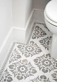 Foam Tile Flooring Sears by Meghan U0027s 10 Bathroom Floor Makeover U2014 Makeover Apartments