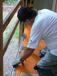Schluter Ditra Tile Underlayment by Wood Porch With A Tile Deck Professional Deck Builder Outdoor