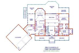 Photo Of Floor Plan For 2000 Sq Ft House Ideas by Grandview Log Floor Plan Log Cabin 4155 Sq Ft Expedition Log