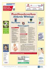 familienchronik wittlage sept 2018 wittlager kreisblatt by