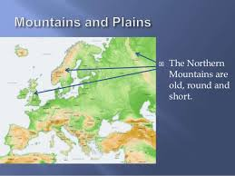 mountain ranges of europe geography of europe with world geography and cultures