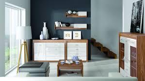 wohnzimmer komplett set a tempe 6 teilig farbe nussfarben weiß hochglanz fronteinsatz nussfarben