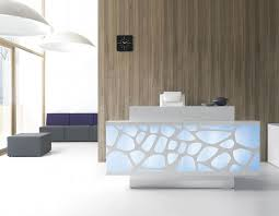 Design Of The Modern Organic Reception Desk Will Stimulate Imagination Filled With Shapes By MDD Office Furniture Takes Its Desi
