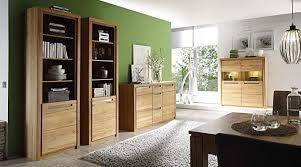 trendteam wohnzimmer vitrine regal standregal zino 68 x 203