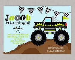 Monster Truck Birthday Invitations - Cloveranddot.Com Dump Truck Party Invitations Cimvitation Nealon Design Little Blue Truck Birthday Printable Little Boys Invites Monster Cloveranddotcom Fireman Template Best Collection Invitation Themes Blue Supplies As Blue Truck Invitation Little Cstruction Boy Vertaboxcom Bagvania Free