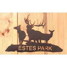 Rustic Elk Personalized Sign