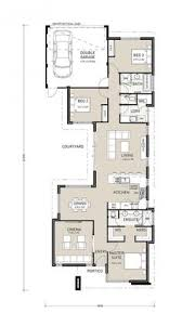 Small Narrow House Plans Colors 653501 Warm And Open House Plan For A Narrow Lot House Plans