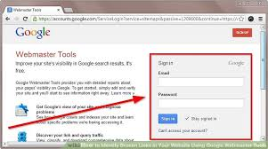 Webmaster by How To Identify Broken Links In Your Website Using Google
