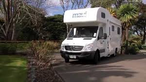 100 Truck Rental Maui River 6 Berth Campervan New Zealand YouTube
