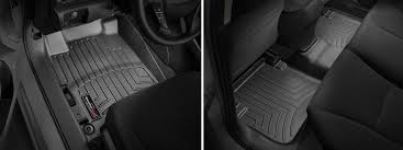 Black Auto Carpet by Weathertech Floorliners Complete Set 1st 2nd 3rd Row