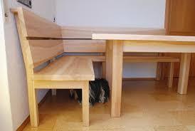 tisch und bank für das esszimmer aus esche eckbank küche