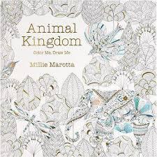 New Sale Animal Kingdom Coloring Book Mini