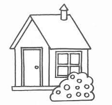 coloriage maison simple 14 dessin gratuit à imprimer