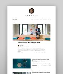 100 Modern Design Blog 25 Clean WordPress Themes To Make Websites In 2019