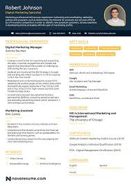 Marketing Resume Example - Update Yours Now For 2019 Resume Examples Templates Orfalea Student Services 10 Best Marketing Rumes Billy Star Ponturtle Advertising Marketing Sample Professional Real That Got People Hired At Rumes Free You Can Edit And Download Easily Email Template Job Application Luxury Cover Letter Work Example Guide For 2019 What Your Should Look Like In Money And Pr Microsoft
