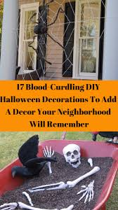 Diy Halloween Tombstones Plywood by Blood Curdling Diy Halloween Decorations To Add A Decor Your