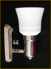 Bathroom Wall Sconces Chrome by Magnificent 10 Art Deco Bathroom Wall Sconces Inspiration Of