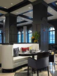 modern deco interior deco design of the allerton hotel chicago