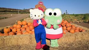 Tanaka Farms Pumpkin Patch Directions by Take A Tour Of The Adorable Hello Kitty Pumpkin Patch In Irvine