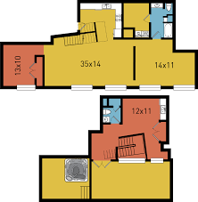 100 Dpl Lofts B14 2 Bed 2 Bath WTerrace 1708 Sf DPL Flats Downtown