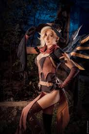 Crossdressed For Halloween by Happy Halloween Witch Mercy Cosplay