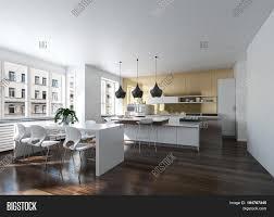 100 Urban Loft Interior Design Modern Kitchen Image Photo Free Trial Bigstock