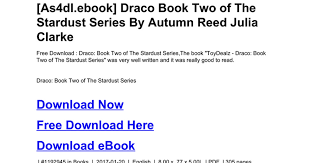 Draco Book Two Of The Stardust Seriesdoc
