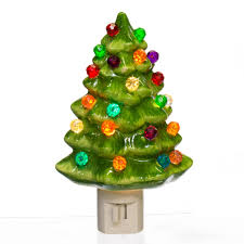 Replacement Light Bulbs For Ceramic Christmas Tree by Ceramic Christmas Tree Night Light Retrofestive Ca