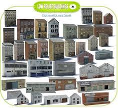 railroad model buildings 160 plans for oo gauge buildings