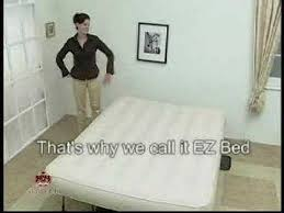 ez bed air bed youtube