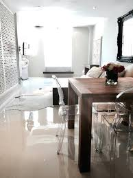 White Epoxy Floor Residential Flooring Texture