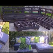 Pallet Patio Table Plans by Outside Pallet Furniture For The Home Pinterest Pallet