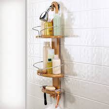Teak Bathroom Corner Shelves by Trendy Teak Corner Shower Caddy U2014 The Decoras Jchansdesigns