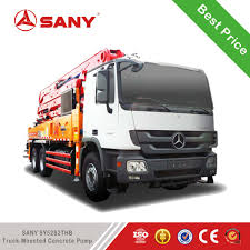 100 Concrete Pump Truck For Sale Sany King Of 38m Of