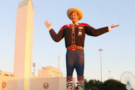 Meet Big Tex The Red River Rivalrys Giant Terrifying Cowboy