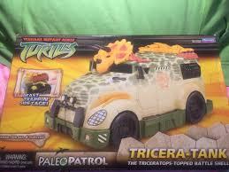 100 Tmnt Monster Truck TMNT TRICERA Tank Paleo Patrol Teenage Mutant Ninja Turtles 2006