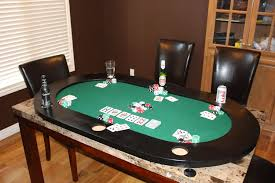 Dining Room Pool Table Combo by Hand Made Poker Table Top By Scenic View Creations Custommade Com
