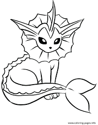 Eevee Coloring Sheets Pages Page To Evolution