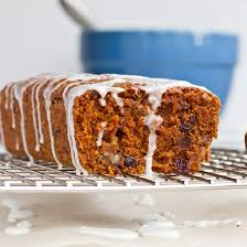 Whole Grain Vegan Carrot Cake Loaf With Lemon Glaze Oh She Glows