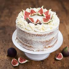 Earl Grey Naked Cake