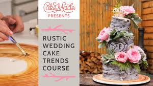 Rustic Wedding Cake Trends